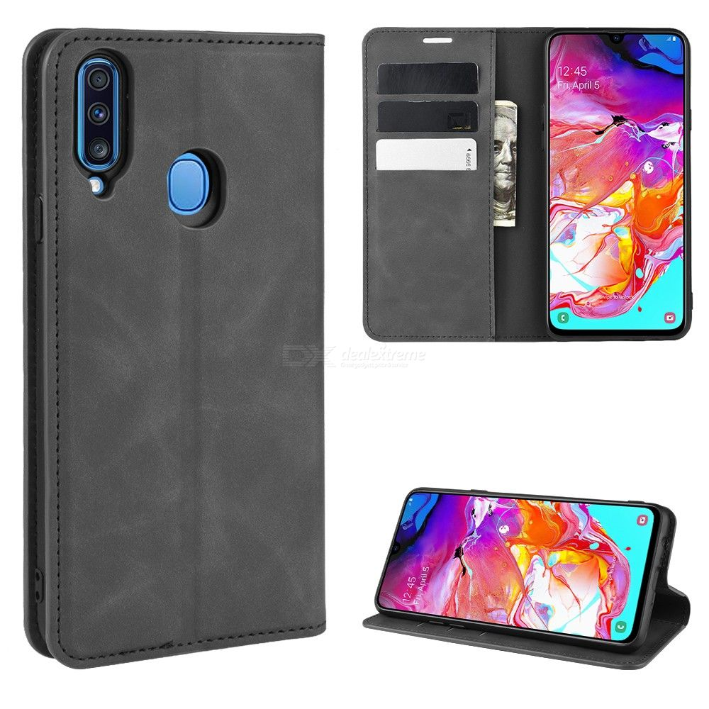 CHUMDIY PU Leather Wallet Case with Magnetic Closure for Samsung Galaxy A20S фото