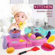Kitchen-Playset-Gas-Stove-with-Sound-Light-Fogging-Function-Vegetable-Washing-Sink-Kitchenware-Pretend-Play-Toys-for-Toddlers