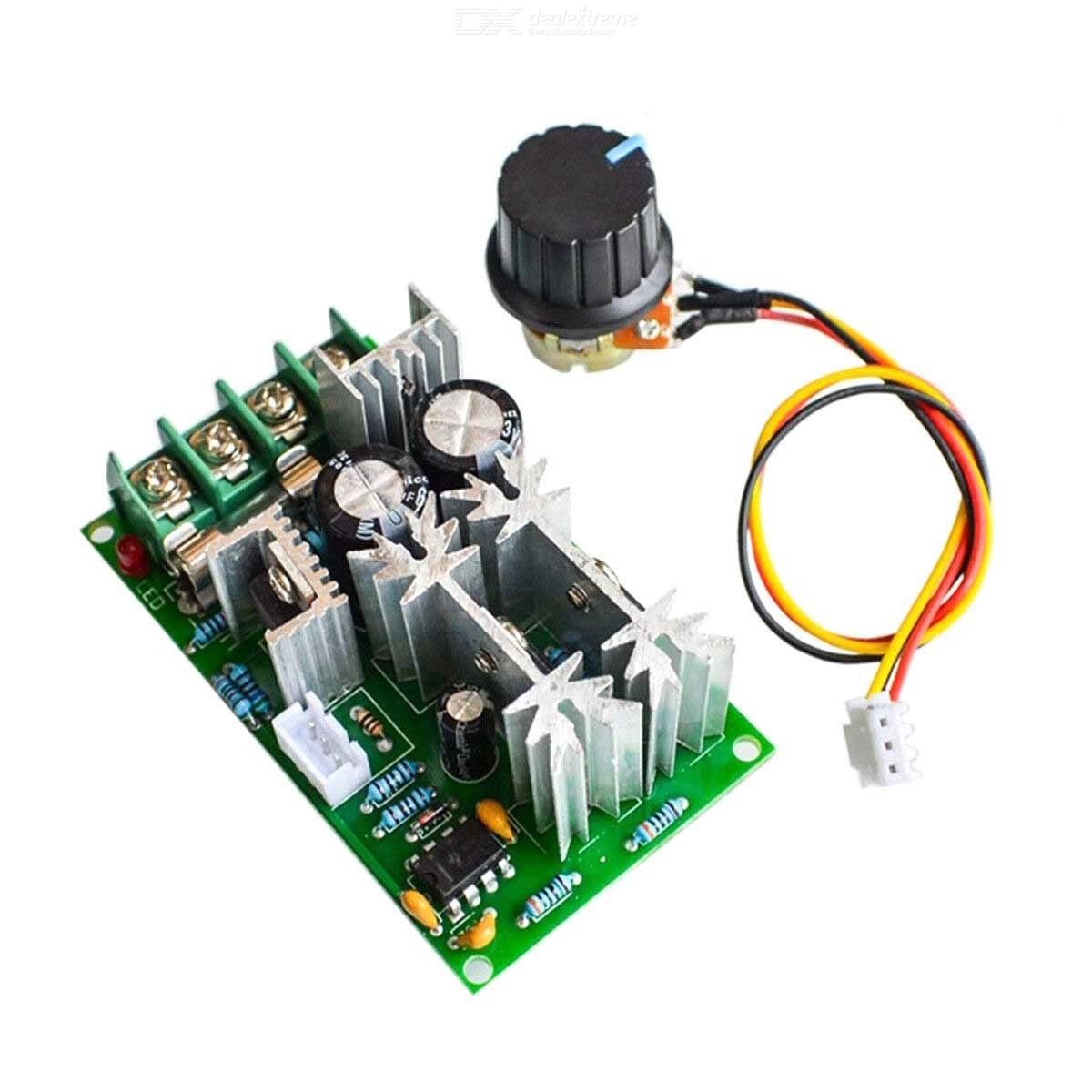 20A PWM DC Motor Speed Regulator Controller Switch Max 1200W DC 12V 24V 36V 48V