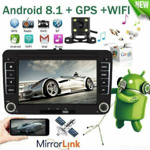 7-Inch Universal Car GPS Navigation DVD Multimedia Player for Volkswagen VW, Support Phone Quick Charge