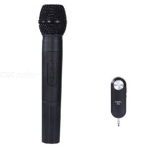 K380L Handheld Wireless Microphone 15M Receiving Range for KTV Speech