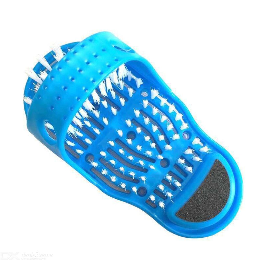 Plastic Bath Shoe Shower Brush Massager Slippers Shoes For Feet Pumice Stone Foot Scrubber Brushes