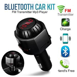 Car MP3 Wireless Audio Player USB Receiver with Bluetooth Lighter Car FM Charger Transmitter Car Bluetooth Music