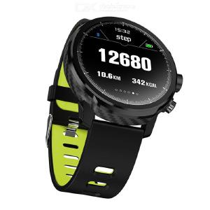 L5 IP68 Waterproof Men Smartwatch, Heart Rate Monitor Smart Watch With 100 Days Standby Time, Multiple Sports Modes