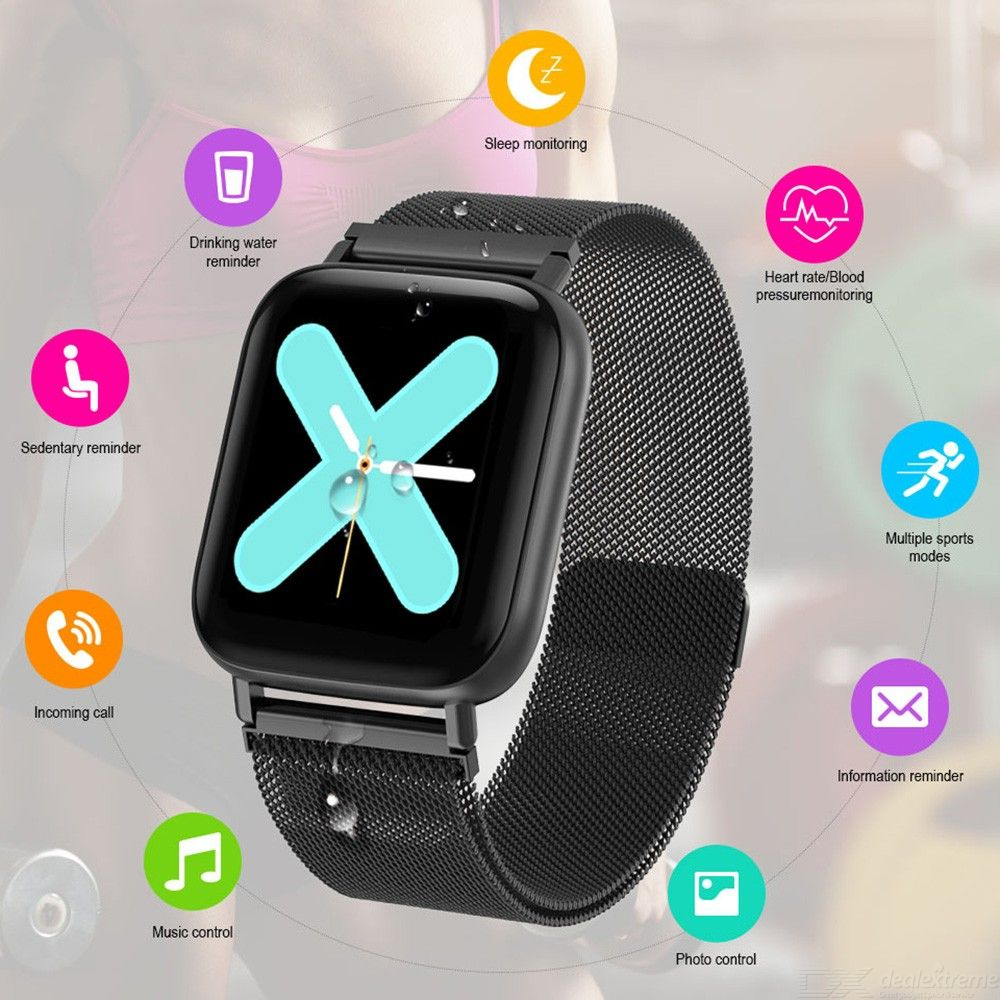 Q10 Waterproof Smart Watch, Heart Rate Blood Pressure Monitor Fitness Tracker Smartwatch For Women Men