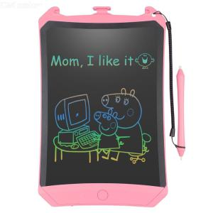 8.5 Inch Digital Writing Tablet Lcd Drawing Board Graphic Electronic Notepad Stylus Pen Comics Animal Colorful Display
