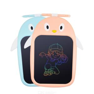 8 Inch LCD Writing Tablet Kids Drawing Board Graphic Electronic Notepad Stylus Pen Comics Animal Colorful Display