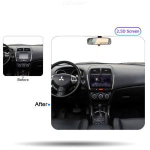 Funrover 2.5D+IPS Android 9.0 Car Multimedia Player Navigation DVD for Mitsubishi ASX 2010-2017 GPS