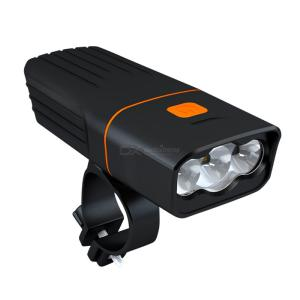 ZHISHUNJIA 3 T6 Bike Light USB Rechargeable Ultra Bright Bicycle Headlight for Road Mountain Cycling