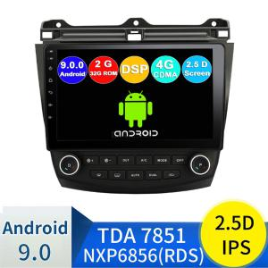 Funrover 2.5D+IPS Android 9.0 Car Multimedia Player Navigation DVDfor Honda Accord 7 2003-2007 GPS