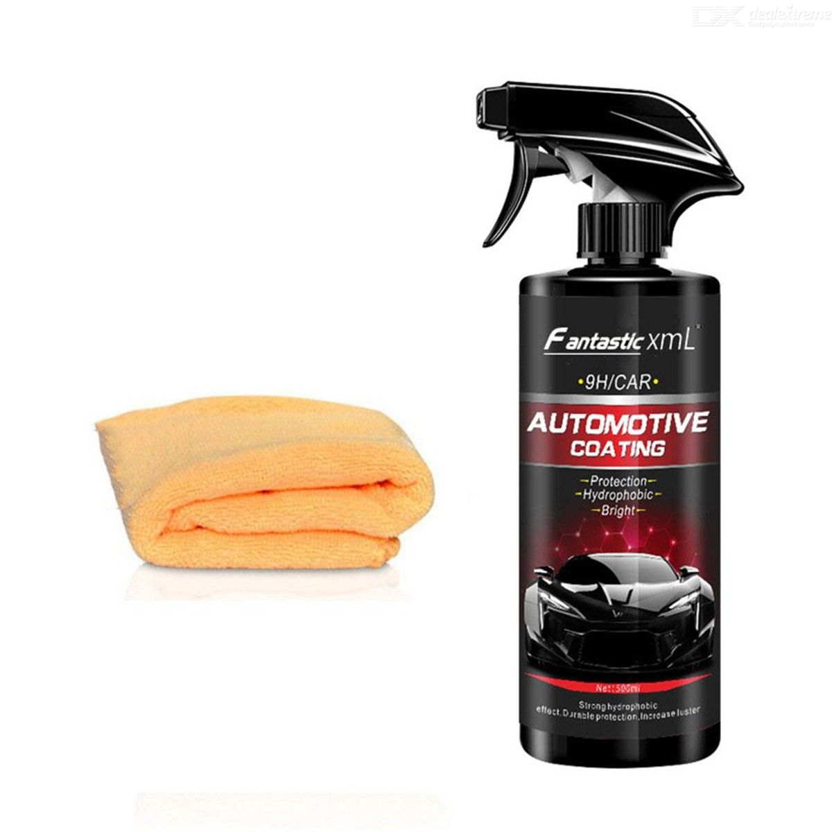500ML Automotive Nano Coating Liquid Car Polish Spray Sealant, Quick Nano-Coating Car Spray Wax