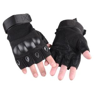 Anti-slip Tactical Half Finger Gloves For Outdoor Mountaineering Cycling