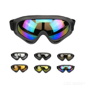 X400 Motorcycle Goggles Dust Proof Windproof ATV Motocross Dirt Bike Cycling Goggles Glasses For Men Women