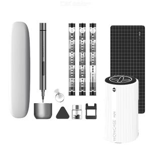 Xiaomi Mijia Wowstick Mini Electric Screwdriver Set With 56pcs Bits Cordless LED Light Precision Wowcase Bit Holder