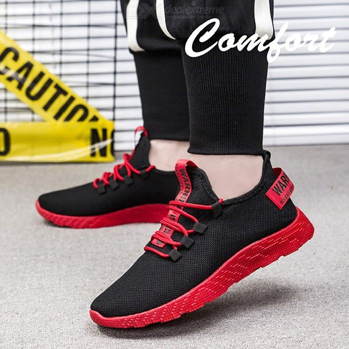 Fashion Breathable Mens Running Shoes Mesh Sneaker Lightweight Athletic Sports S