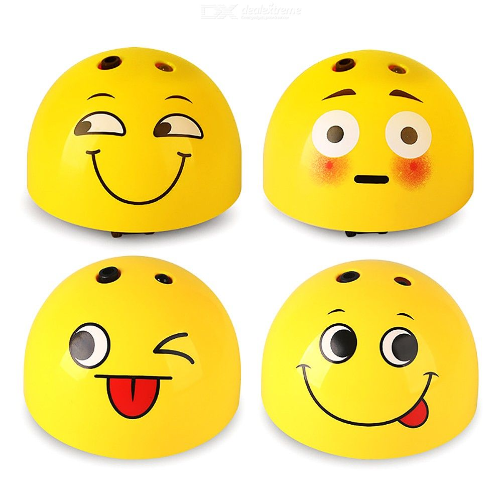 Never Catch Me Toys Smart Interactive Emoji Chaser Toys For Children Pets - Random Pattern