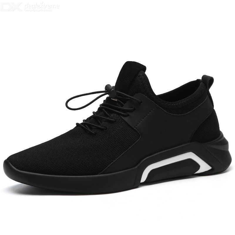 Mens Breathable Sneakers Casual Lightweight Slip On Shoes