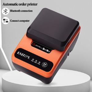 GAQIPL Portable 58mm Bluetooth Thermal Label Receipt Printer Bluetooth Printer Support Audio Broadcast For Windows Android