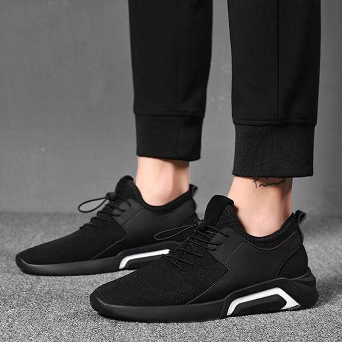 Mens Breathable Casual Mesh Sneakers Soft Non-Slip Sports Walking Shoes