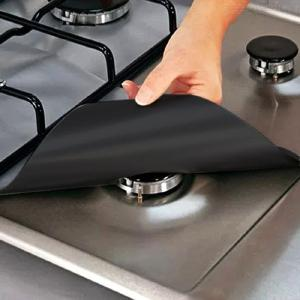 Non-Stick Gas Stove Protector Reusable Oil-Proof Mat For Kitchen Cookware (2702700.2mm)