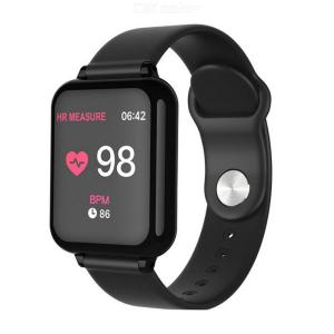 B57 Sport Smart Watch 1.3 Inch IPS Color Screen Fitness Tracker Heart Rate Blood Pressure Sleep Monitor Pedometer Watches