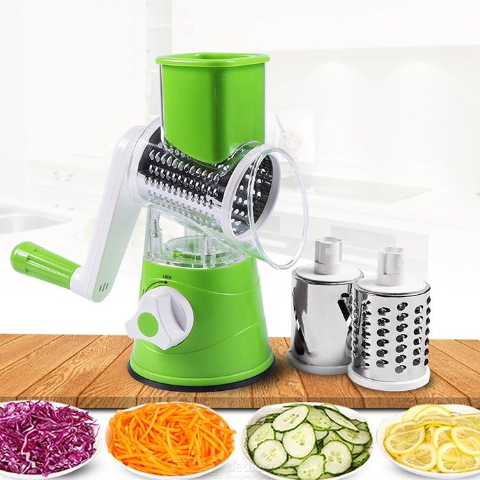 Manual Roller Vegetable Slicer Multifunctional Potato Carrot Cutter Kitchen Gadgets