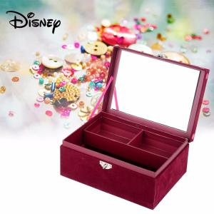 Disney SOY LUNA Fashion Jewelry Box Case Cassette With Lock For Kids Children