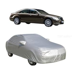 Universal Full Car Covers Snow Ice Dust Sun UV Shade Cover Foldable Auto Car Outdoor Protector Cover (4.5x1.75x1.5m)