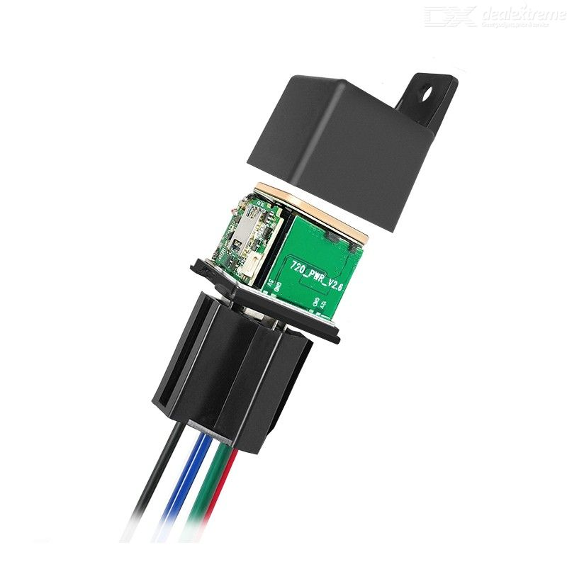 CJ720 Tracking Device Car Relay GPS Tracker GSM Locator Remote Control Anti-theft Monitoring Cut Off Oil Power System