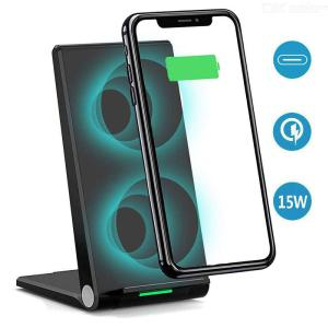 A10 Wireless Charger Stand 15W Max Fast Wireless Charging Pad