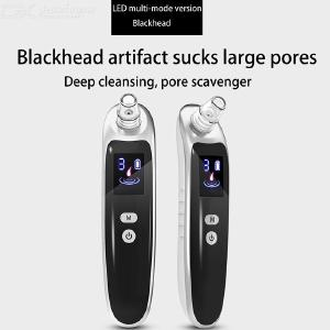 Blackhead Remover Vacuum Electric Facial Pore Cleanser With 3 Modes 6 Heads