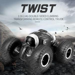 JJRC Q70 2.4GHz RC Crawler Car Twister- 4WD Double-sided Flip Deformation Climbing RC Car 1:16 RTR Toy Gift For Kids