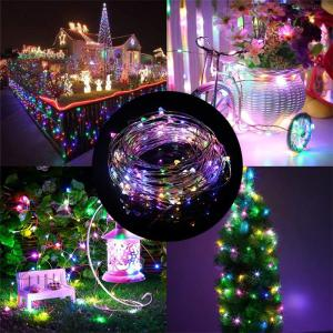 5M USB LED String Light 50LEDs 5V Waterproof Indoor Outdoor Christmas Wedding Banquet Decorative Light