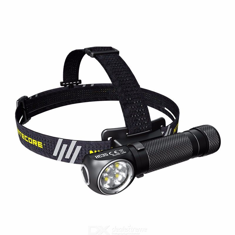 NITECORE HC35 Flashlight Headlamp 2-in-1 2700 Lumen High Brightness USB Rechargeable Industrial Headlamp LED Torch