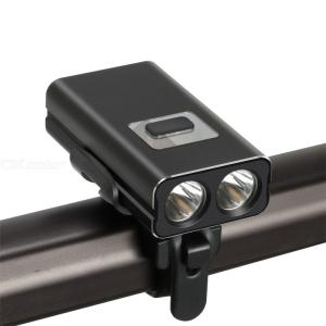 BC19 USB Rechargeable Strong LED Bicycle Light 2  XML-T6 1600 Lumen Outdoor Riding Headlight Flashlight Set