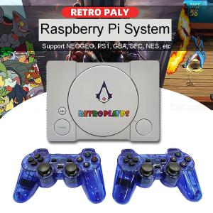 PS1 Game Console Tree Strawberry Pie 50 Simulator Retro Play TV Game 7000 Games