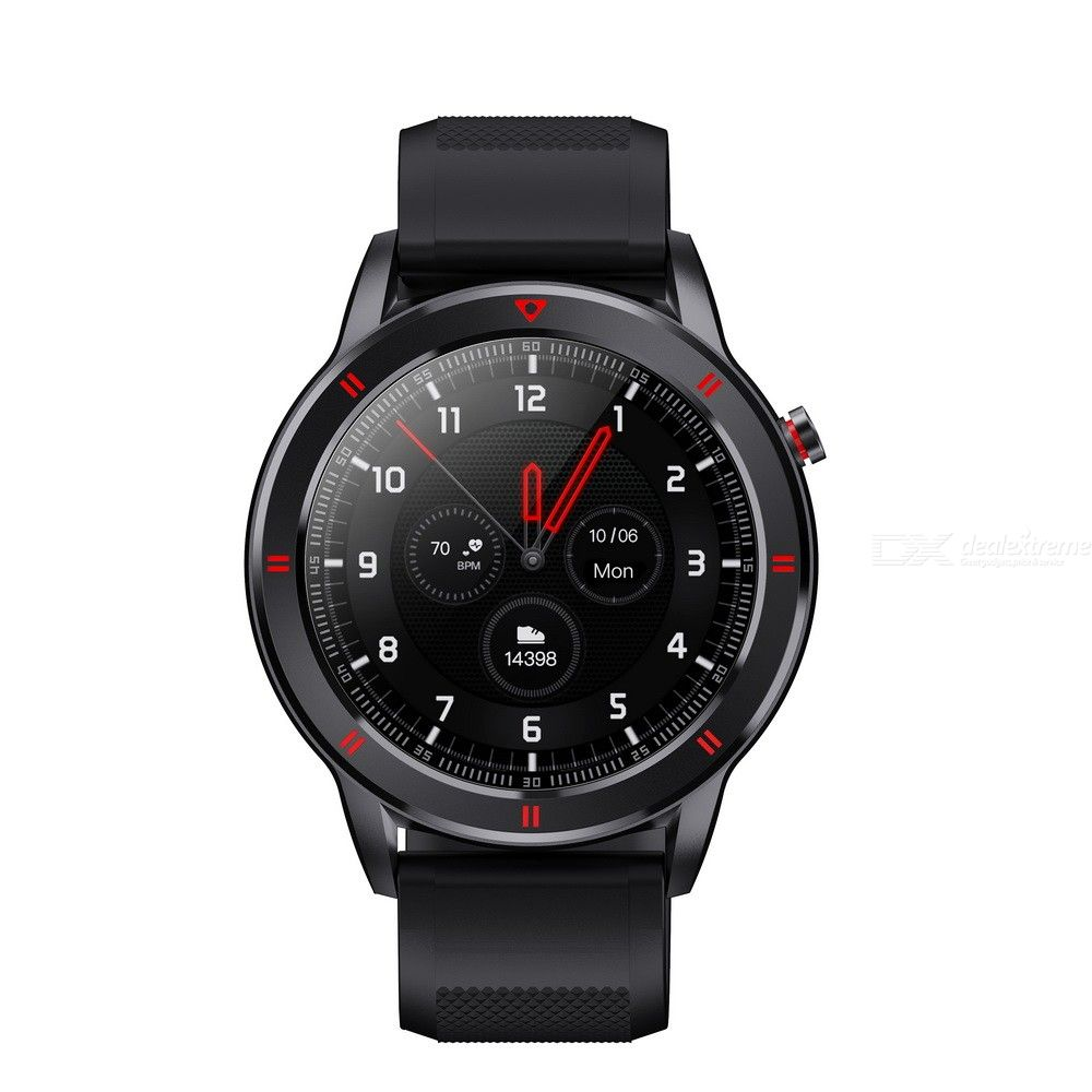Youth 1 1.28 Inch Smart Watch With Heart Rate Blood Pressure Monitor Fitness Modes IP68 Water Resistance