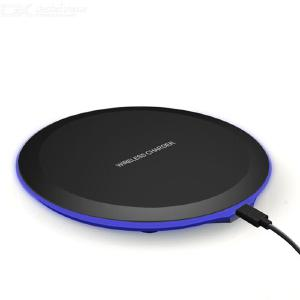 Wireless Charger 10W/7.5W/5W Ultra Slim Wireless Charging Pad For IPHONE Samsung