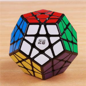 QIYI Megaminx Magic Cube Stickerless Speed Professional 12 Sided Puzzle Cubo Magico Educational Toys For Children
