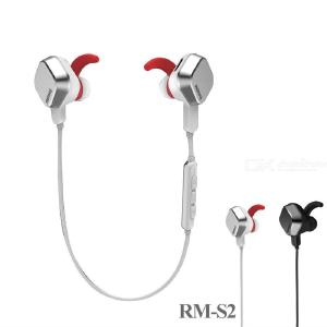 REMAX S2 Magnetic Bluetooth In-Ear Earphone Wireless Sports Headset Earbuds With Microphone