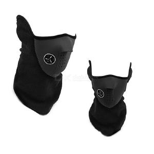 Unisex Thermal Mask Neck Gaiter Warmer Windproof Dustproof Breathable Half Face Mask For Motorcycle Riding Cycling Skiing