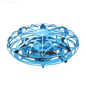 Mini Drone For Kids Toy Hand Operated UFO Quadcotper For Boys And Girls