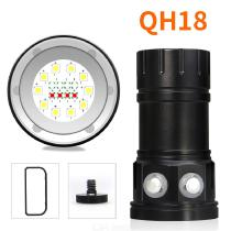 QH18 XM-L2 High Power 120W IPX8 Waterproof Diving Flashlight Outdoor LED Torch