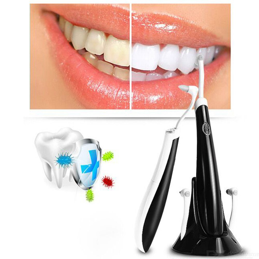 Electric Sonic Dental Calculus Plaque Remover Tool, USB Tooth Stain Scraper Tartar Removal Cleaner Eraser
