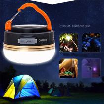 Outdoor Lighting USB Charging LED Tent Light Multifunctional Camping Lamp