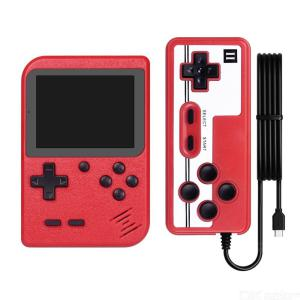 400-in-1 Retro FC Handheld Game Console Player, 3 Inch LCD Color Screen Game Box With Handle