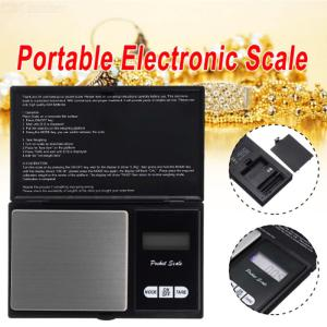Portable Flip Type 100g / 0.01g  Electronic Pocket Scale for Jewelry