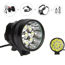 XML-T6 3-mode LED Bicycle Light Outdoor Cycling Bike High Power Flashlight