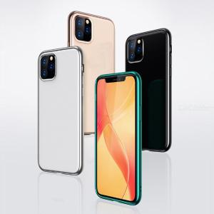 Egeedigi Plating Matte Case Ultra-Thin Clear TPU Cover For iPhone X XR XS Max 11 Pro Max 7 8 Plus