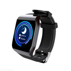 KSS901 1.3 Inch Smart Watch Fitness Tracker Watch With Heart Rate Blood Pressure Monitor IP68 Waterproof Message Reminder